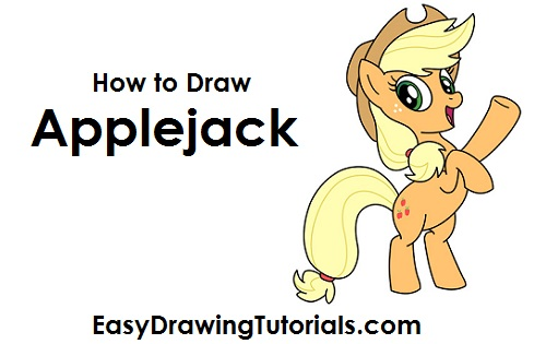 How to Draw Applejack