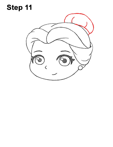 Draw Mini Chibi Cute Little Belle Beauty 11