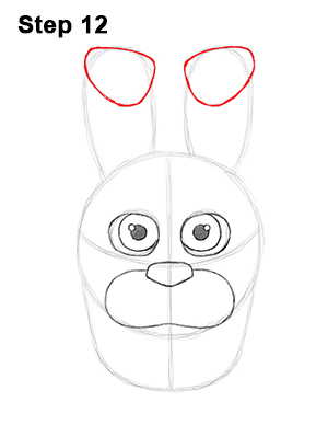 Draw Bonnie Five Nights at Freddy's 12