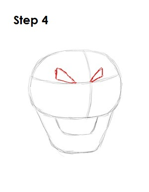 How to Draw Bowser Step 4