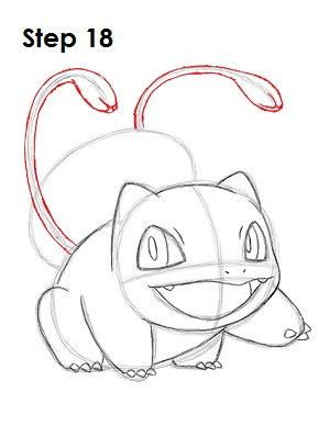 Draw Bulbasaur 18
