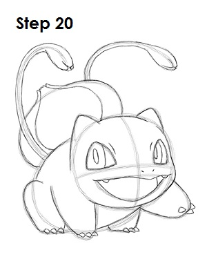 Draw Bulbasaur 20