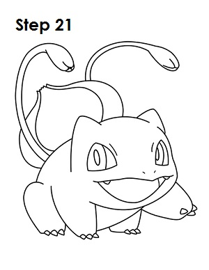 Draw Bulbasaur 21