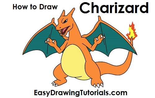 How to Draw Charizard