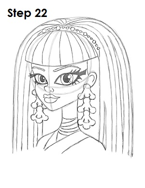 easy monster high coloring pages - photo#44