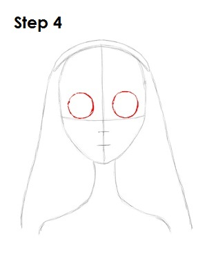 How to Draw Corpse Bride Step 4