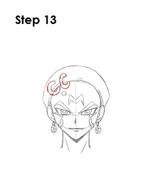 Draw Crow Hogan Step 13