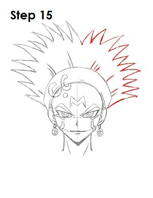 Draw Crow Hogan Step 15