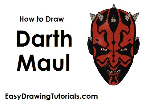 How to Draw Darth Maul
