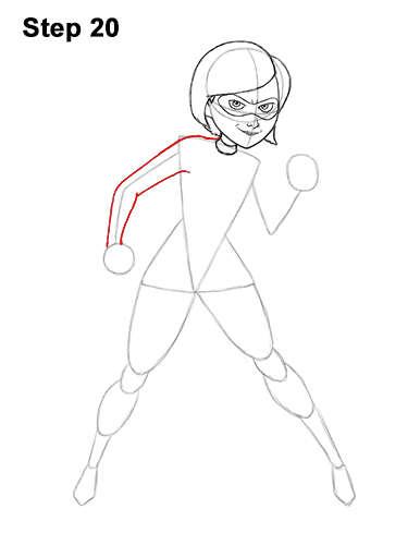 How to Draw Elastigirl Helen Parr Incredibles 20
