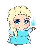 How to Draw Elsa Mini