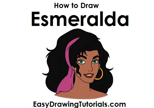 How to Draw Esmeralda