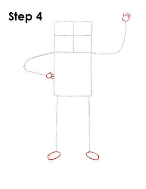How to Draw Finn Step 4