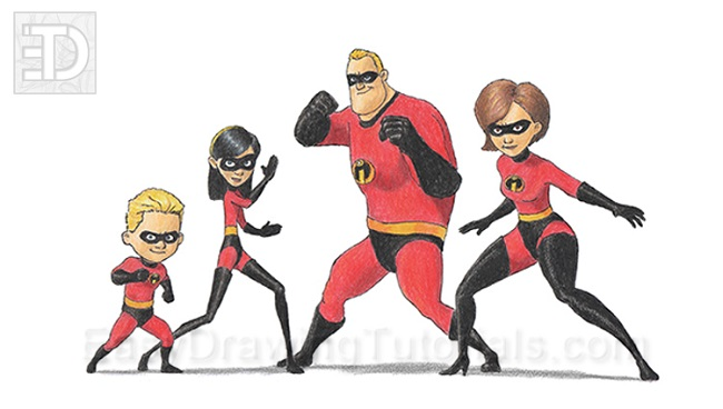 The Incredibles Drawing Giveaway