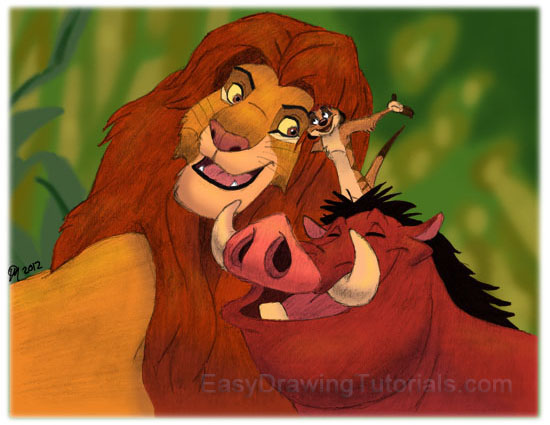 Lion King Drawing