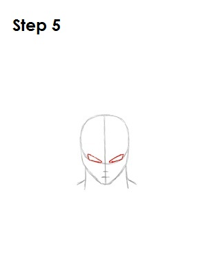 How to Draw Goku Step 5