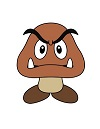 How to Draw a Goomba