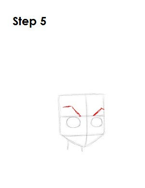 How to Draw Huey Boondocks Step 5
