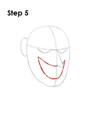 Draw the Joker Step 5