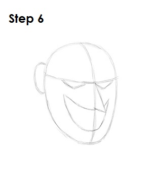 Draw the Joker Step 6