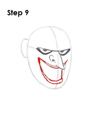 Draw the Joker Step 9