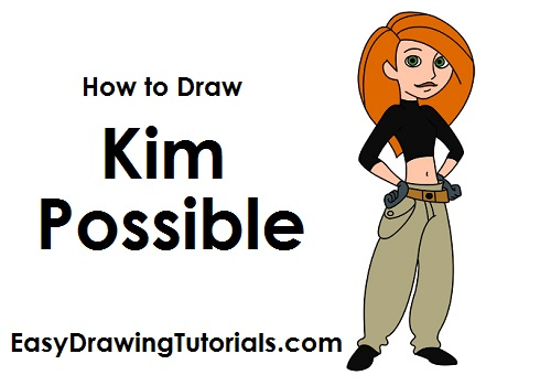 How to Draw Kim Possible