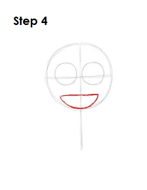 How to Draw a Minion Step 4