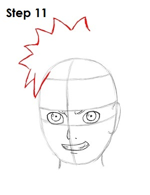 how to draw your own naruto character