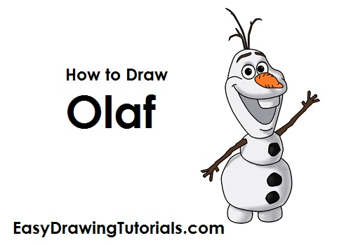 How To Draw A Olaf
