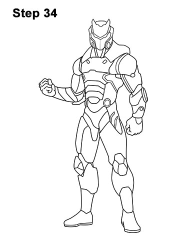 fortnite coloring pages omega Coloring Pages Fortnite Omega fortnite coloring pages omega