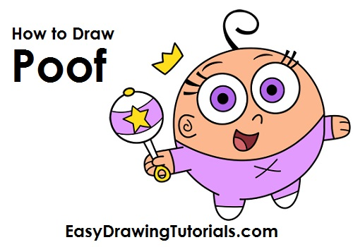 How to Draw Poof Fairly OddParents