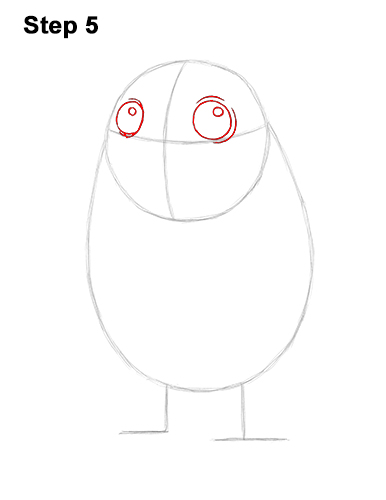 How to Draw Cute Porg Star Wars Episode VIII Last Jedi 5
