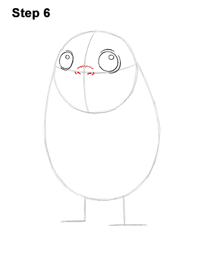 How to Draw Cute Porg Star Wars Episode VIII Last Jedi 6