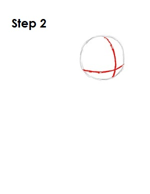 How to Draw Rainbow Dash Step 2