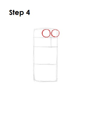 How to Draw Rigby Step 4