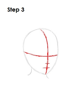 How to Draw Roxas Step 3