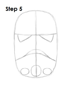 How to Draw Stormtrooper Star Wars Step 5