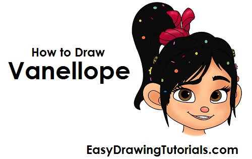 How to Draw Vanellope