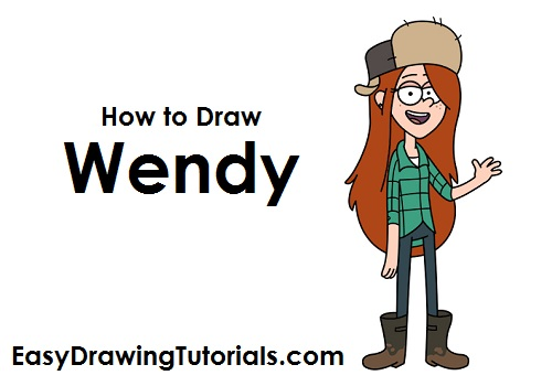 How to Draw Wendy Corduroy