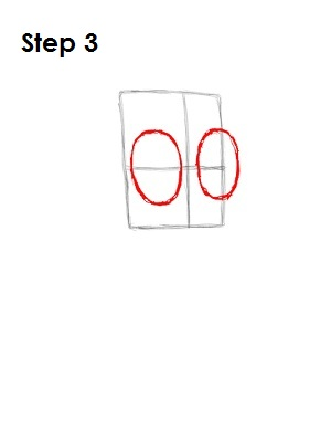 How to Draw Zim Step 3