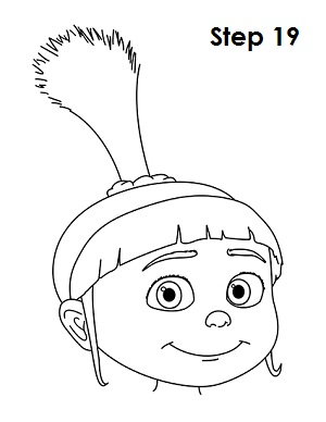 Draw Agnes (Despicable Me)Despicable Me Drawing