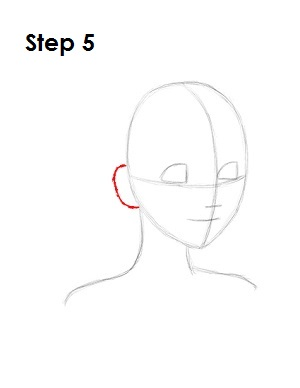 How to Draw Alice Step 5
