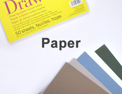 Art Drawing Materials Supplies List Paper Sketch Pads