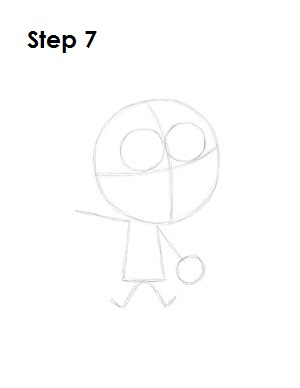 How to Draw Cosmo Step 7