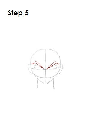 Draw Crow Hogan Step 5