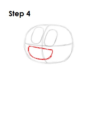 How to Draw Darwin Watterson Step 4