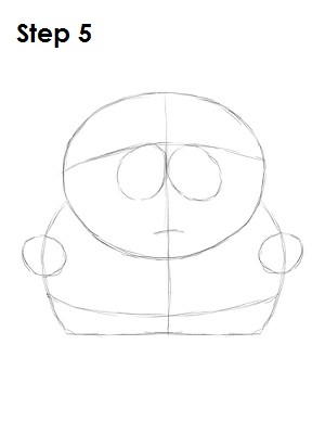 Draw Eric Cartman Step 5