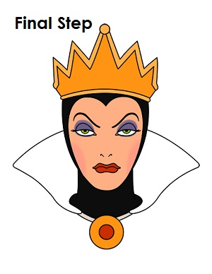 How to Draw the Evil Queen (Snow White)