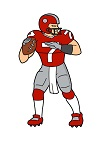 How to Draw a Football Player Quarterback