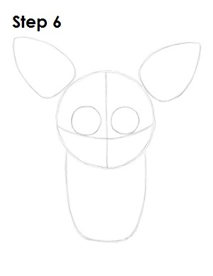 Draw Foxy Five Nights at Freddy's 6